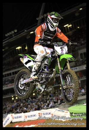 Chad Reed packed up his number one plate and moved to Kawasaki.