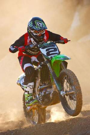 Ryan Villopoto spends a lot of time in first gear on the SX tracks — and on purpose too!
