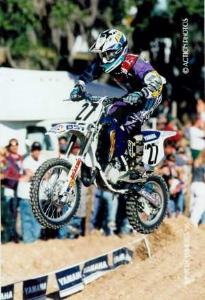 That's none other than Matt Walker on his YZ80.
