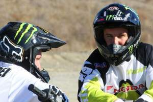 Carmichael and McGrath, the two greatest supercross racers ever.