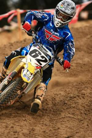 JT$ is currently holding down second place in the German supercross standings.
