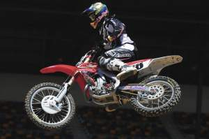 Davi Millsaps was another rider invited to race after Stewart bowed out.