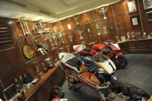 Doohan's trophy room.
