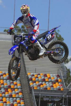 Kyle Cunningham had a great supercross tour in Australia.