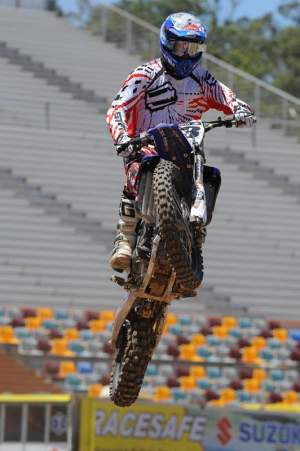 Josh Grant established himself as one of the top 450 riders last season.