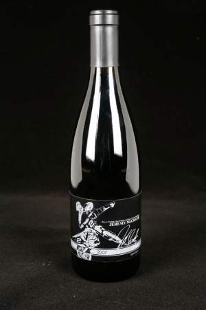 Jeremy McGrath's Showtime Syrah wine