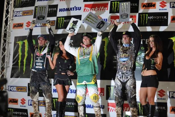 Australasian Supercross Championship Podium