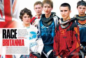 There's a revolution going on in Great Britain. Do the Red Bull Pro Nationals signify a new motocross era? Page 142.
