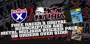 Enter Twitch's Metal Mulisha X-Mas List contest on our Facebook page.