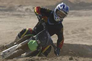Squire was adapting to supercross very quickly before his injury.