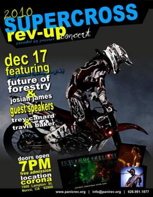 Look for Trey Canard at the Panic Rev Rev-Up Part on 12/17.