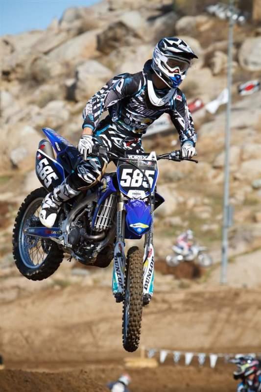 Moto Concept rider Travis Baker