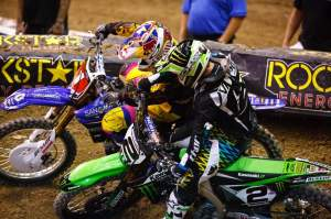 Villopoto bangs bars with the champ in Vegas.