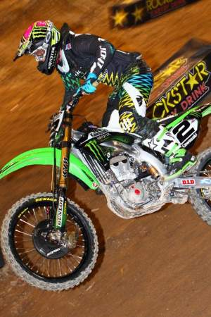 Villopoto was the second fastest man on the track at the U.S. Open.