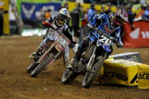 Broc Tickle came from behind for sixth.