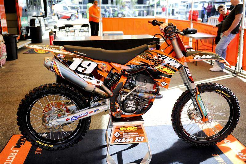 Tommy Searle's FMF KTM 250SX/F.