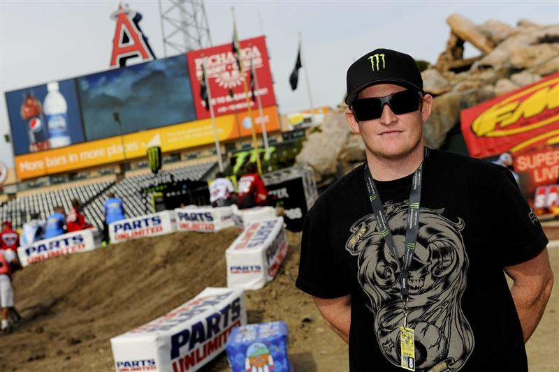 Ricky Carmichael is slumming this weekend at A1. He's doing color commentary for the TV show.