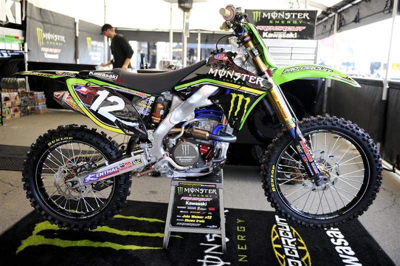 Jake Weimer's KX250F.