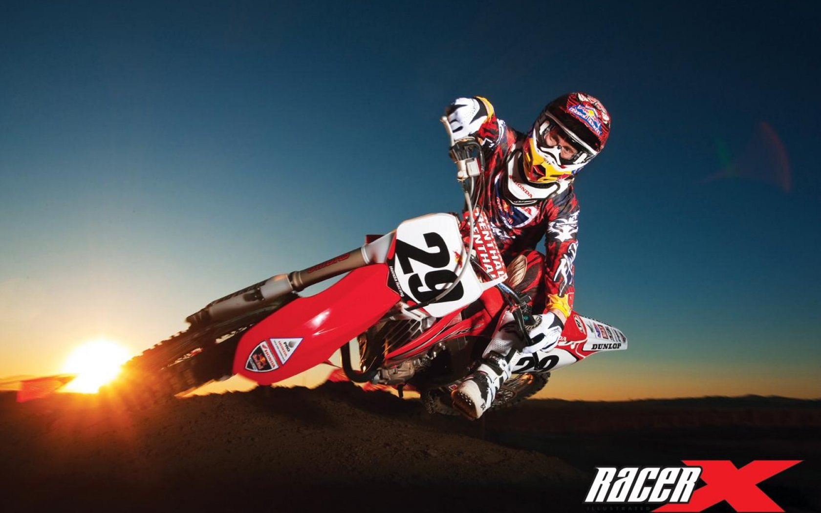 Motocross racing wallpaper