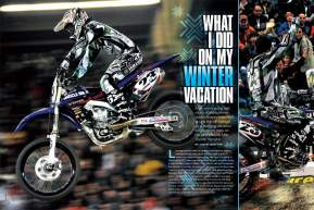Justin Brayton takes us behind the scenes of his working vacation as he races his way across Europe.  Page 158.
