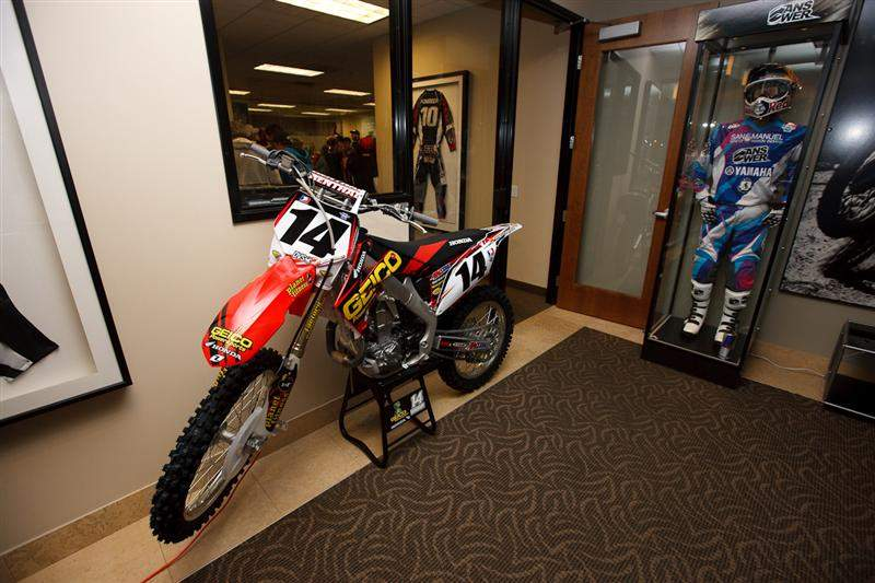 Windham's ride home parked in the lobby