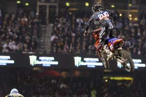 ...his teammate Cole Seely finished a strong fifth.