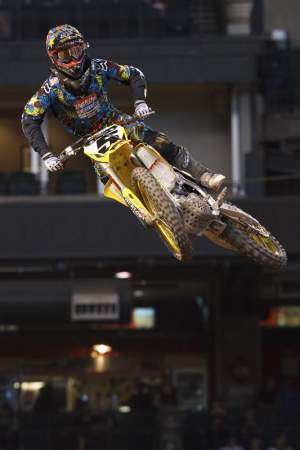 Ryan Dungey is a rookie, but it doesn't show.