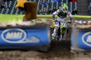 Josh Hansen showed great speed again in practice.