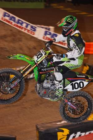 Rumors had it that Josh would be on a Monster Energy/Pro Circuit KX450F in 2010, but he will actually be on a KX250F in the Western Regional Lites division.