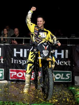 JT won a Supermoto bike!