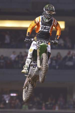 Chad Reed is out, maybe for the whole series, with a broken hand.