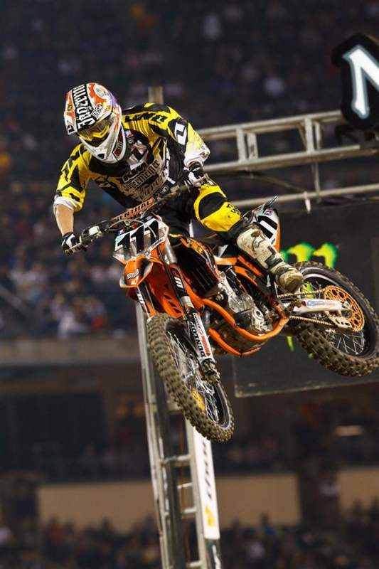 NCY KTM/Factory Services' Michael Sleeter