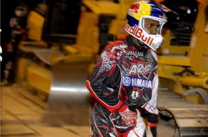 James Stewart put in a performance on Saturday night that, for what it lacked in speed, more than made up in grit and determination.