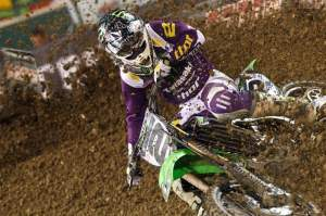 The A1 Ryan Villopoto slept in the Anaheim dirt and came back for A2. The other rode in Phoenix.