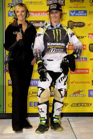 Jake Weimer won Anaheim I for the second year in a row. And he was pumped.
