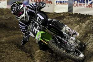 Ryan Villopoto won his second race of the season at Anaheim III.