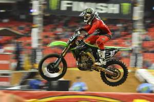 Ryan Villopoto was third in practice.
