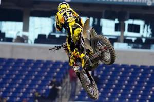 Local boy (sort of) Justin Barcia.