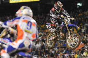 Justin Brayton grabbed fifth in the main event, just in front of Dungey.