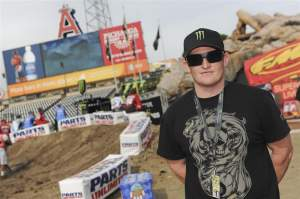 Despite his four-wheel obligations, Ricky Carmichael has been a regular on the SX tour so far this year, doing commentary on the broadcasts.
