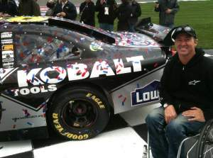 David Bailey enjoy's an all-access pass during Fontana's NASCAR weekend.