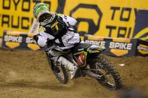 Christophe Pourcel took the win at the first round of the Lites East.