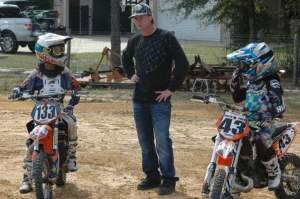 Tim Ferry helps Cullin Park and Jordan Bailey prepare for Loretta's.