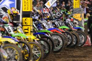The gate fell in San Francisco without James Stewart and Chad Reed.