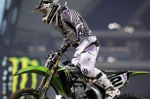Villopoto was fourth overall in practice.