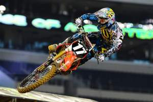 Justin Barcia was fourth-fastest in the Lites class, just behind rival Martin Davalos.