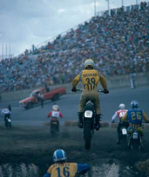 Daytona's supercross history runs deep. Here's Bob Hannah back in the day.