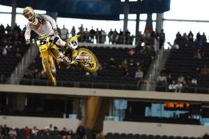 Ryan Dungey was fastest in Dallas practice.