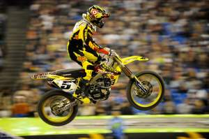 Ryan Dungey was second for the second week in a row. He now holds a 17-point lead over Villopoto.