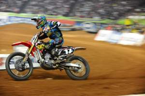 Justin Barcia was fastest in the Lites class.